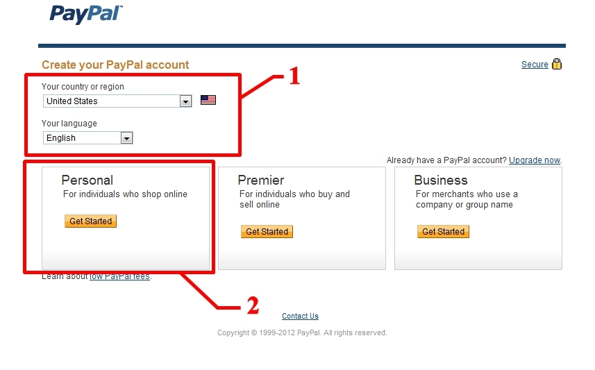 how to change paypal information