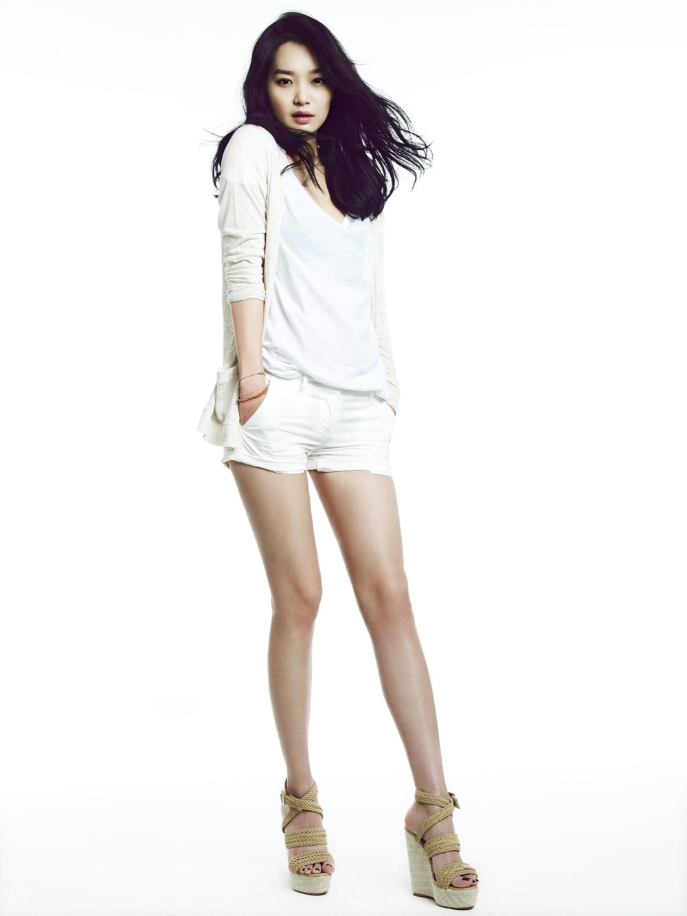 Shin Min Ah Official Website Photographs Updated 2012