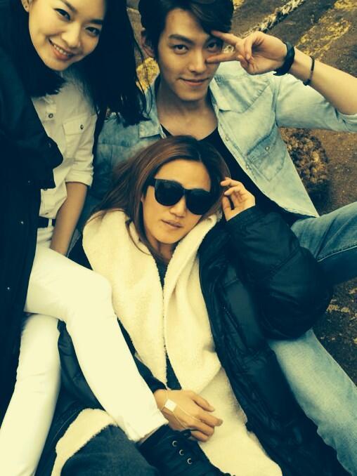 Mina, Kim Woo Bin, Zo Sun Hi Giordano 2014